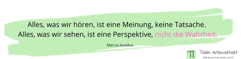 Zitat Marcus Aurelius | Team Introvertiert