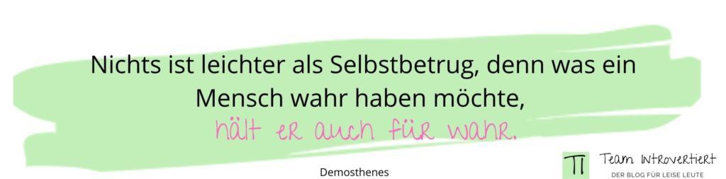 Zitat Demosthenes | Team Introvertiert