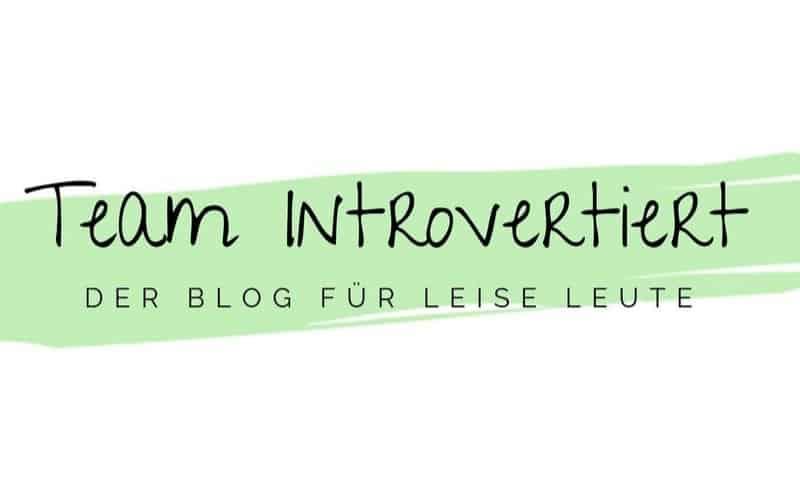 Logo Team Introvertiert | Der Blog für leise Leute