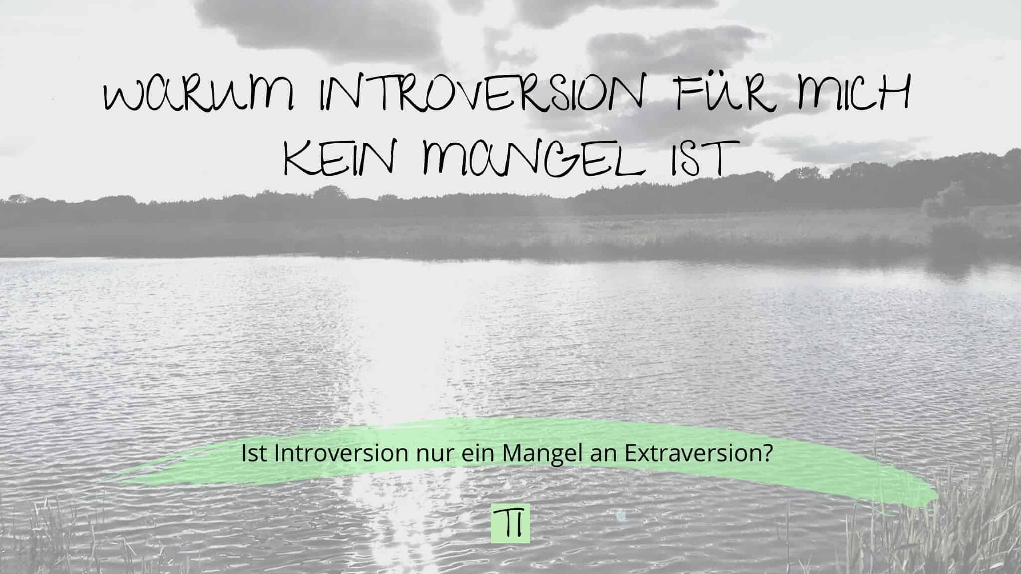 Titel: Warum Introversion für mich kein Mangel ist | Team Introvertiert