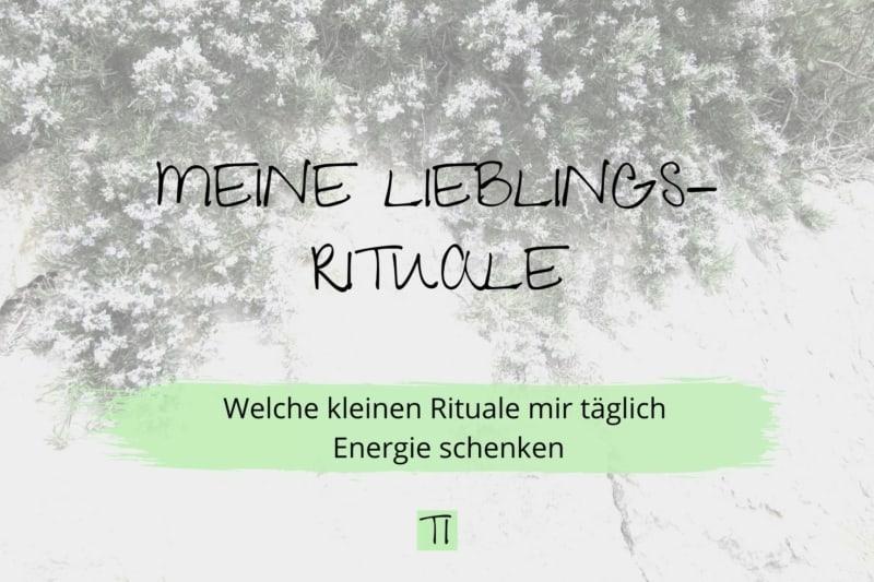Titel: Meine Lieblings-Rituale | Team Introvertiert