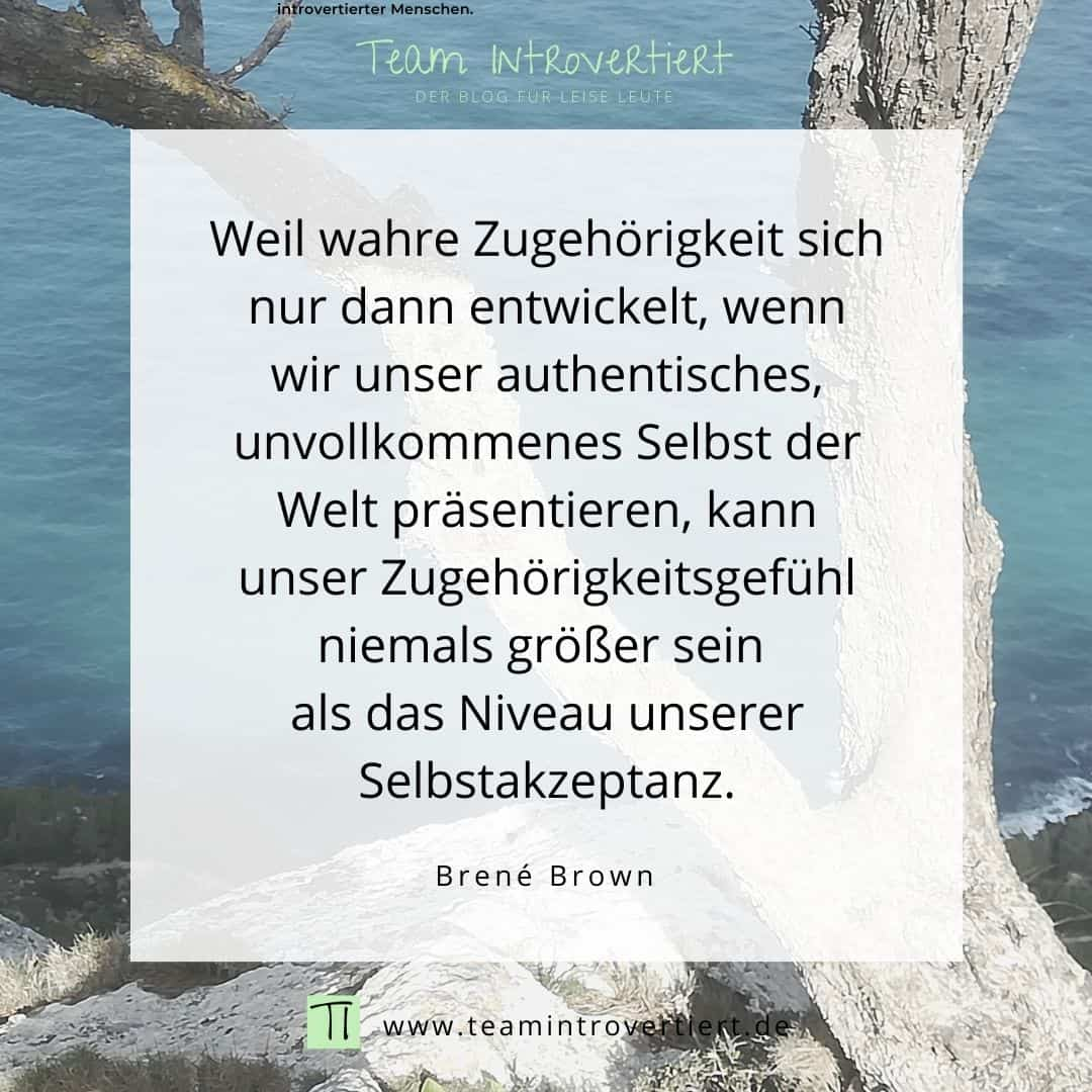 Zitat Brene Brown | Team Introvertiert